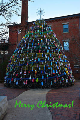 Photograph - Merry Christmas Tree by Mike Martin
