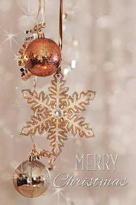 Photograph - Merry Christmas Twinkles by Lori Deiter