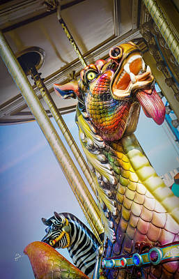 Photograph - Merry Dragon by TK Goforth