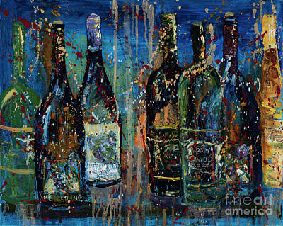 Winery Painting - Merry Edwards Winery by Jodi Monahan