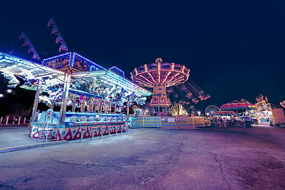 Photograph - Merry Go Creepy by JD Mims