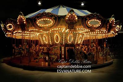 Photograph - Merry Go Round 2756 by Captain Debbie Ritter