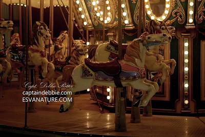 Photograph - Merry Go Round 2762 by Captain Debbie Ritter