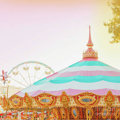 Photograph - Merry-go-round by Cindy Garber Iverson