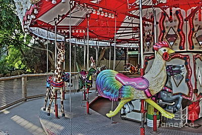 Photograph - Merry-go-round by Natalie Ortiz