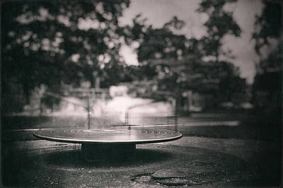 Playground Photograph - Merry Go Round by Scott Norris