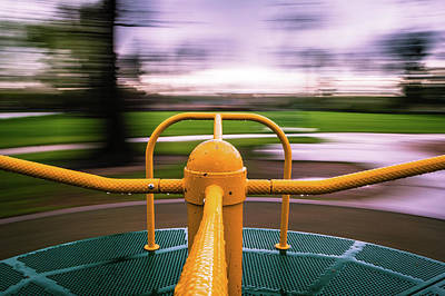 Photograph - Merry Go Round by Stephen Holst