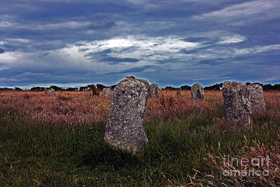 Photograph - Merry Maidens Cornwall by Terri Waters