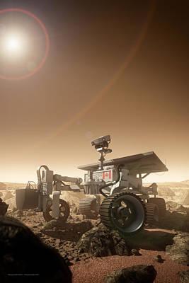 Mers Rover Art Print by Bryan Versteeg
