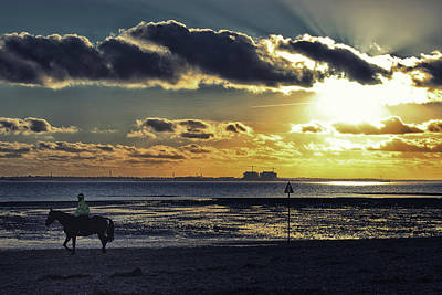 Thomas Kinkade Rights Managed Images - Mersea Island Royalty-Free Image by Martin Newman