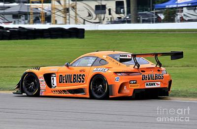 Sports Royalty-Free and Rights-Managed Images - Mersedes AMG GT3 by Douglas Sacha