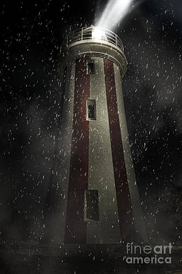 Digital Art - Mersey Bluff Lighthouse In Devonport. Fine Art by Jorgo Photography - Wall Art Gallery