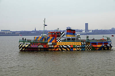 Photograph - Mersey Ferry Snowdrop by Tony Murtagh