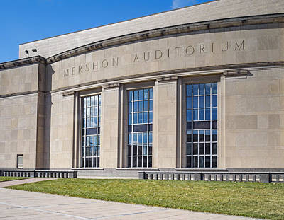 Photograph - Mershon Auditorium Ohio State by Marianne Campolongo