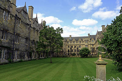 Photograph - Merton College Gardens by Tony Murtagh