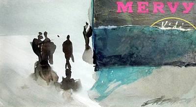 Painting - Mervy by Ed Heaton