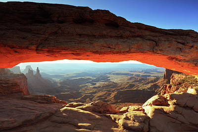Photograph - Mesa Arch Canyonlands Np by Roupen  Baker