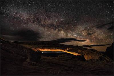 Photograph - Mesa Arch by Erika Fawcett