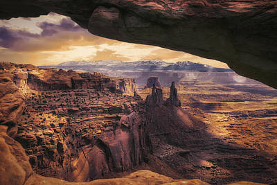Photograph - Mesa Arch by James Bethanis
