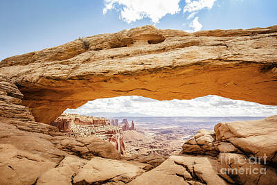 Photograph - Mesa Arch Panorama by JR Photography