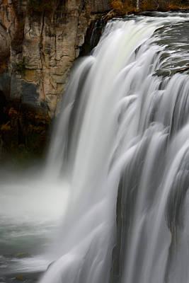 Photograph - Mesa Falls by David Andersen