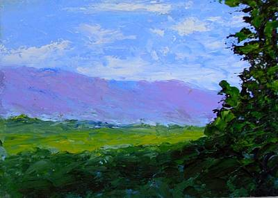 Painting - Mesa by Fred Wilson