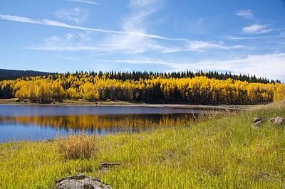 Fall Photograph - Mesa Lake by Kyle Leahy