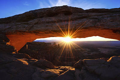 Arches National Park Photograph - Mesa Sunrise by Chad Dutson