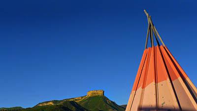 Photograph - Mesa Teepee by Skip Hunt