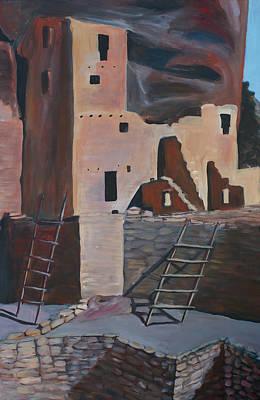 Mesa Verde 2 Art Print by Cher Devereaux
