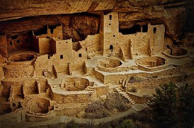 Photograph - Mesa Verde Cliff Dwellings, Mesa Verde National Park by Flying Z Photography by Zayne Diamond