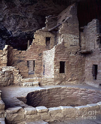 Impressionist Landscapes - Mesa Verde Cliff Palace by Daryl L Hunter