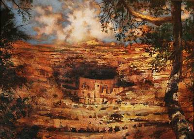 Mesa Verde Colorado Original by Tom Shropshire