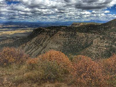 Photograph - Mesa Verde Landscape by Anne Sands