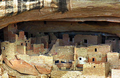 Handmade Icon Photograph - Mesa Verde by Marilyn Hunt