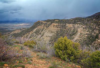 Western Photograph - Mesa Verde National Park Colorado Usa by Joan Carroll