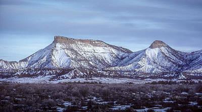 Photograph - Mesa Verde National Park  by John Brink