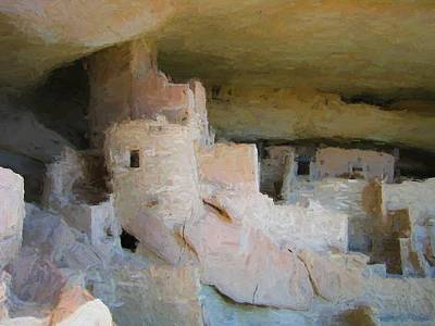 Digital Art - Mesa Verde Oil by Gary Baird