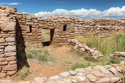 Photograph - Mesa Verde Texture by James BO Insogna