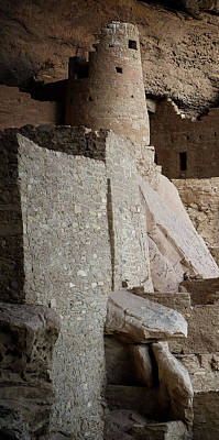 Photograph - Mesa Verde Triptych Panel No. 1 by Bud Simpson