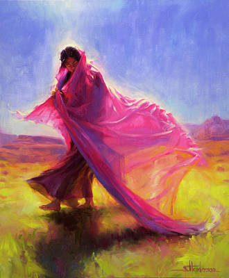 Painting - Mesa Walk by Steve Henderson