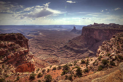 Photograph - Mesas And Canyons by Robert Melvin
