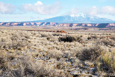 Photograph - Mesas And Mountains by Tom Cochran