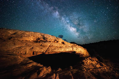 Photograph - Mesa's Milky Way by Darren White