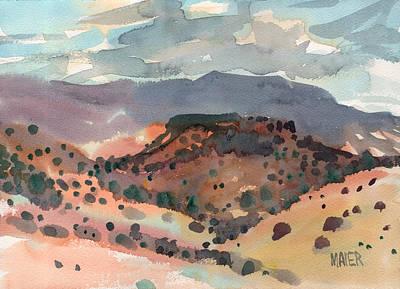 Mesas To Mountains Art Print
