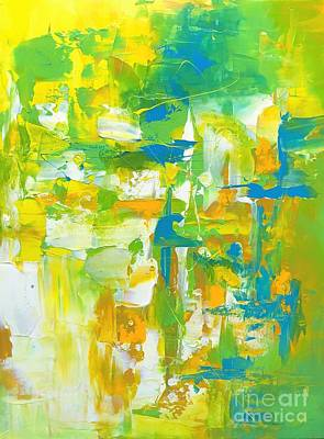 Painting - Mesmeric 1 by Preethi Mathialagan