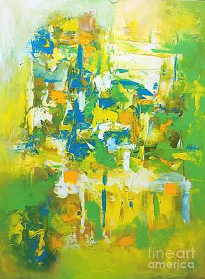 Painting - Mesmeric 3 by Preethi Mathialagan