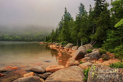 Photograph - Mesmerizing Jordan Pond by Elizabeth Dow