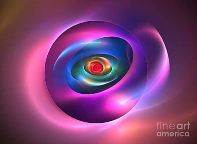 Chakra Rainbow Digital Art - Mesosphere by Kim Sy Ok