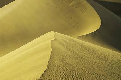 Photograph - Mesquite Dunes 01 by Jim Dollar